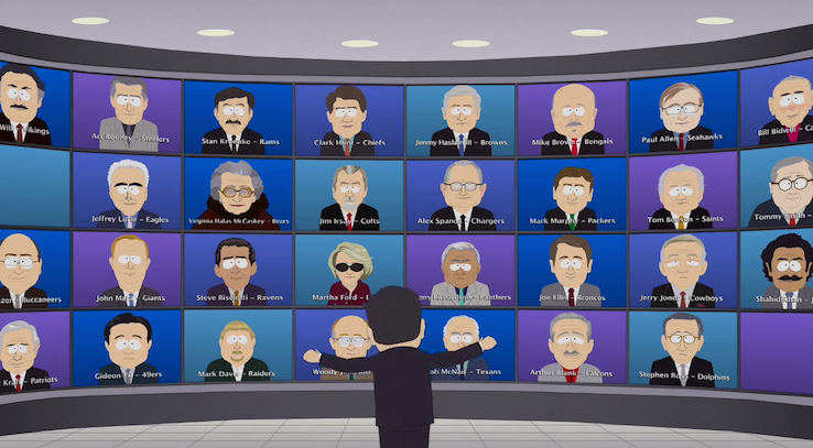 every nfl owner - sports figures parodied on south park
