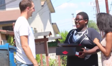 Here's a Guy Just Giving Away Jordans on the Streets of Compton (Video)