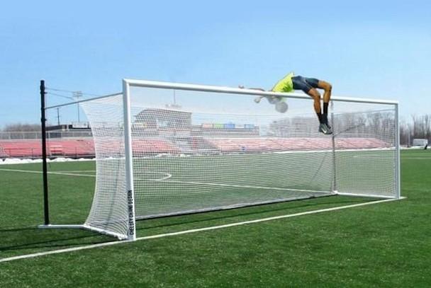 high jump photoshop soccer goal