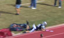 Let's All Watch a High School Football Player Faceplant…Hard (Video + GIF)