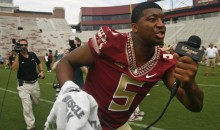 "Jameis Winston Suspended First Half Against Clemson After Yelling ""F*ck Her Right in the P*ssy"" in an FSU Cafeteria"