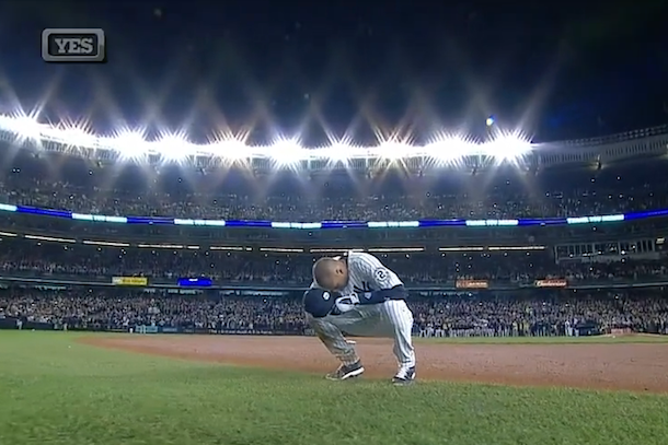 jeter's final game at yankee stadium (jeter hits walk-off single)