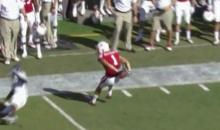 Play of the Year? Nebraska Wide Receiver Makes Ridiculous Behind-the-Back Catch (Video + GIF)