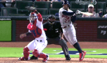 MLB Hits King Jose Altuve Introduces the Jump Swing (GIF)