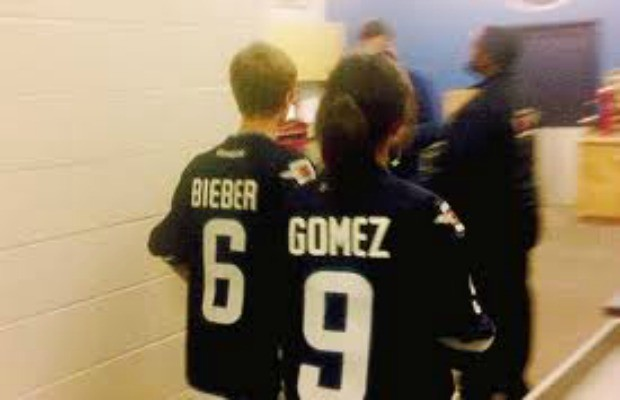 f4db461a60d justin bieber selena gomez 69 jerseys - best customized fan jerseys