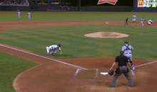 Twins Catcher Kurt Suzuki Demonstrates How Not to Slide Into Home Plate (GIF)