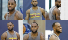 LeBron's Hairline Was Back…and Now It's Gone Again (Pics)