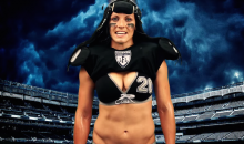 "Lingerie Football League Challenges Ray Rice: ""One Down Of Football To Get Your Ass Handed To You"""