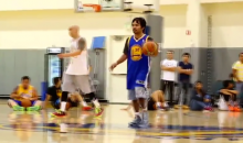 Manny Pacquio Is Way Better at Basketball than Singing (Video)