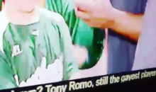 "Tony Romo ""Still the Gayest Player"" on the Cowboys According to Fox 26 Houston's News Ticker (Video)"
