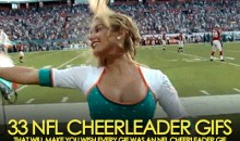 33 NFL Cheerleader GIFs that Will Make You Wish Every GIF Was an NFL Cheerleader GIF