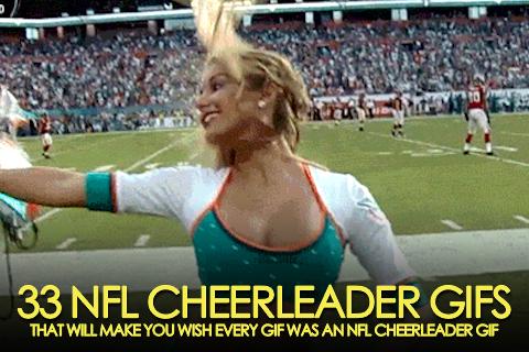 nfl cheerleader gifs