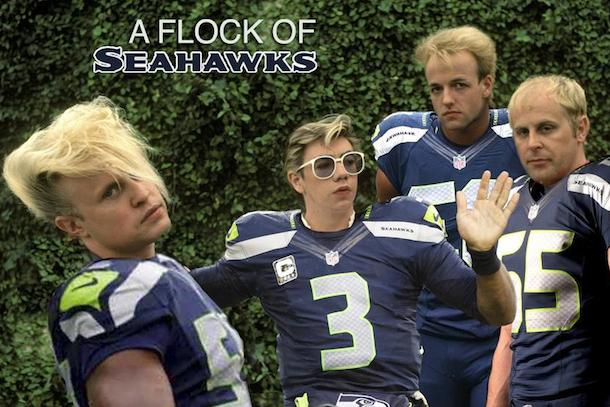 #nflmusicians - flock of seahawks