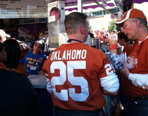 oklahoma homophobic slur texas longhorns jersey - best customized fan jerseys