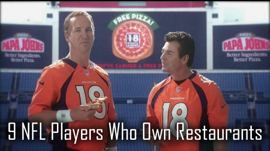 9 NFL Players Who Own Restaurants