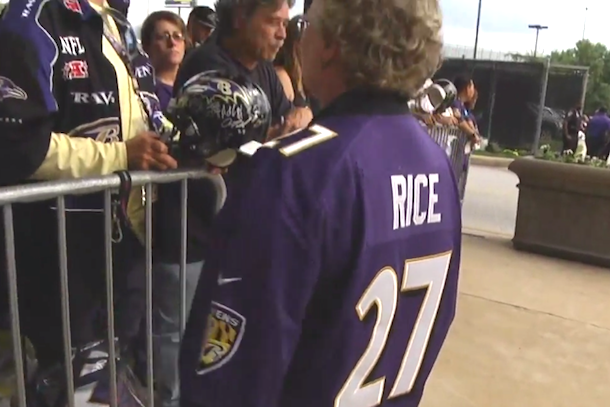 ravens fans still love ray rice