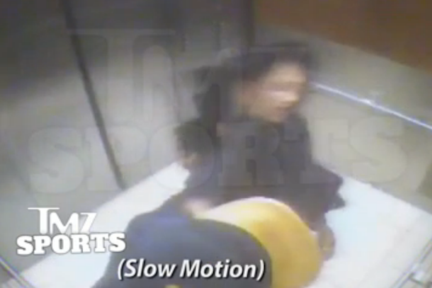 Footage of Ray Rice Punching His Wife Finally Released