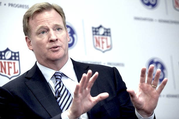 did roger goodell see the ray rice video