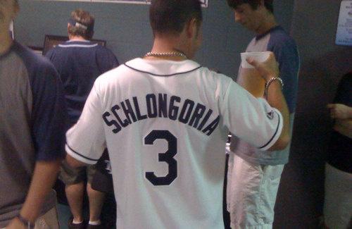 schlongoria tampa bay rays jersey - best customized fan jerseys