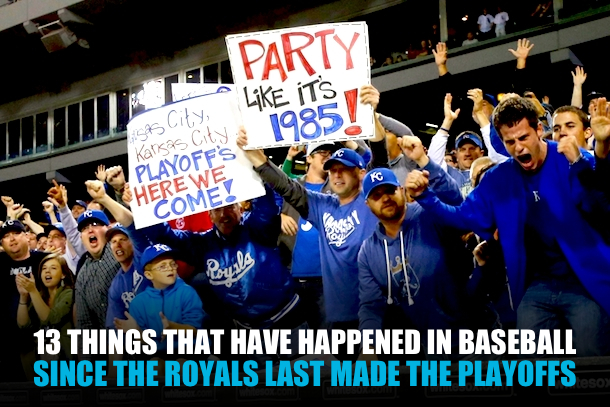 since the royals last made the playoffs