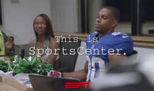"Latest ""This Is SportsCenter"" Commercial Features Jimmy Graham and Victor Cruz Playing Fantasy SportsCenter (Video)"
