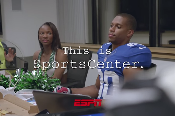 sportscenter commercial fantasy sportscenter victor cruz jimmy graham