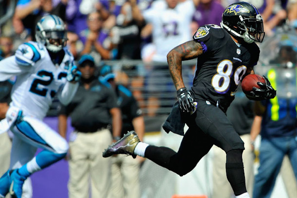 steve smith torched the panthers