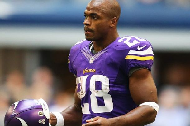 vikings suspend adrian peterson