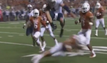 BYU QB Taysom Hill Leaps Over Longhorns Defender, Into Endzone, Onto Heisman Radar (Video)