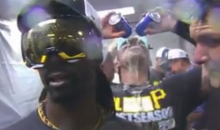 Pirates Catcher Tony Sanchez Videobombs Teammates with Stone Cold Steve Austin Victory Celebration (Videos)
