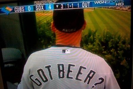 white sox got beer - best customized fan jerseys