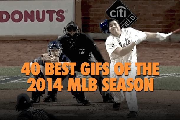 40 best gifs of the 2014 mlb season