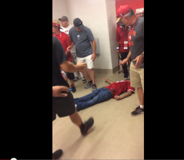 49ers Brawl in Stadium Bathroom Is Ugly in Every Sense of the Word