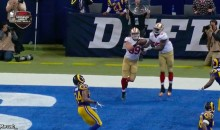49ers Tight Ends Compete for Touchdown Pass and Drop It (GIF)