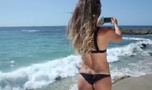 Surfer Anastasia Ashley Wears a Bikini in This Beach Photo Tutorial (Video)