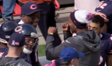 Brandon Marshall Struggles to Spell 'Communication' While Mic'd Up (Video)