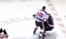 Built-Up Hockey Fight Results in One-Punch KO (Video)