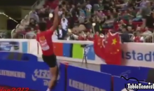 Chinese Table Tennis Player Fined $45k for Boastful Display after Win (Video)