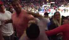Clippers Fan Fight: Dude Punches Like a Girl, Gets Punched Back by a Man (Video)