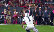 Colts Punter Pat McAfee Recovers His Own Onside Kick Against Texans (GIF)