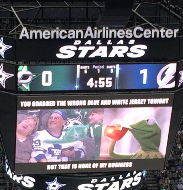 Dallas Stars troll fans with vintage meme night 2