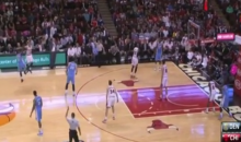 Desperation 3-Pointer From Nate Robinson Falls, Because Nate Robinson is Magic (Video)