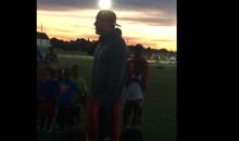 J.J. Watt Speech at Youth Football Camp is Inspiring (Video)