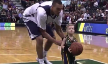 Utah Jazz Sign 5-Year-Old JP Gibson to One-Day Contract and Put Him in Annual Intra-Squad Scrimmage (Video)