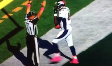 "Julius Thomas of the Broncos Says ""It's So F*cking Easy"" After Touchdown (Video)"