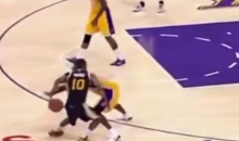 Kobe Bryant Caps Off a Rough Week by Getting Burned on Crossover (Video)