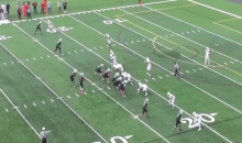 Division III QB Lemar Johnson Scores Touchdown After Hurdling Defender (Video + GIF)