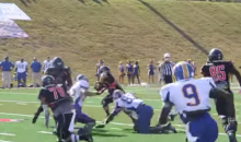 North Greenville QB Throws TD Pass to Himself (Video)
