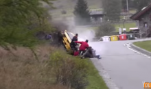 Rally Crash Happens Inches From Spectators, Somehow No One Dies (Video)