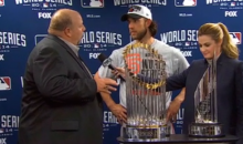 Chevy Guy's World Series MVP Presentation Was Painfully Awkward (Video)